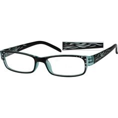 a4e162c3a98 Translucent Plastic Fashion Full-Rim Frame with Spring Hinges  260516