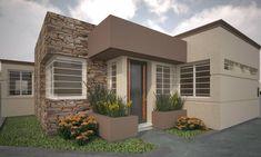 Artwork For Home Decoration Design Exterior, Modern Exterior House Designs, House Paint Exterior, Exterior Colors, Entrance Design, House Entrance, Paint Colors For Home, House Colors, Minimal House Design