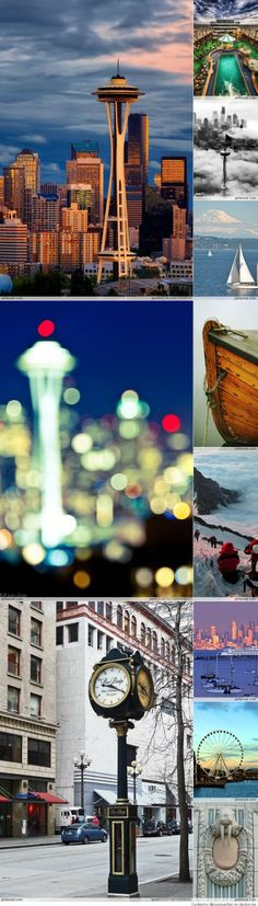Seattle, Washington USA , home of Christian <3