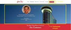 Example 2 – HireVue - Home Page