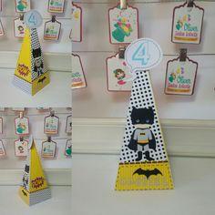 Cone Batman Cute by Oliver Festas Infantis