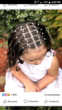 All About Hairstyles Toddler Hairstyles Girl Hairstyles Toddler Hairstyles Girl girl Hairstyles toddler Easy Toddler Hairstyles, Easy Little Girl Hairstyles, Girls Hairdos, Cute Hairstyles For Kids, Baby Girl Hairstyles, Kids Braided Hairstyles, Princess Hairstyles, Toddler Hair Dos, Easy Hairstyles