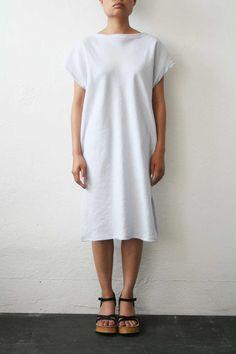 W / by WELTENBUERGER / Scrubs Dress - Light Blue