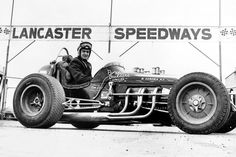 Driver Ron Lux.  Died July 16, 1966 in a crash.