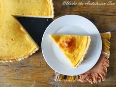 Under the Andalusian Sun food blog: Egg custard tart