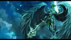 Magical art | League of Legends fantasy art warriors angels magic armor wallpaper ...