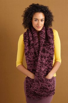 Pocketed October Scarf