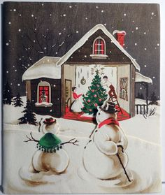 snowman wishes  ♺ Kathy H