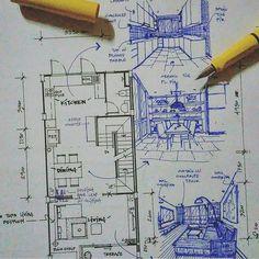 Architecture - Daily Sketches (@arch_more) • Fotos y vídeos de Instagram