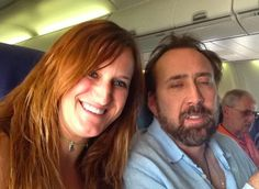 When Nicolas Cage failed to anticipate the double flash. | The 33 Most Painfully Awkward Celebrity And Fan Encounters Of All Time