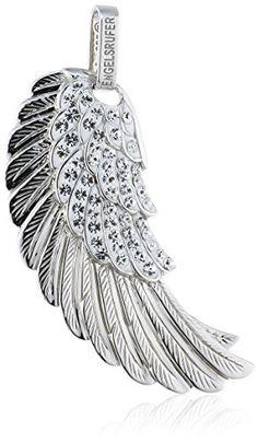 Engelsrufer Women's Pendant Rhodium-Plated 925 Sterling Silver