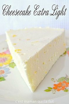 CHEESECAKE CITRON ULTRA LIGHT RECETTE DIETETIQUE DIABETIQUE REGIME