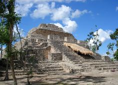 March 2012:  Chacchoben Mayan Ruins, Mexico