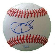 Jeremy Guthrie Autographed Rawlings ROLB1 Leather Baseball, Proof Photo