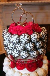 cake pop wedding cake!