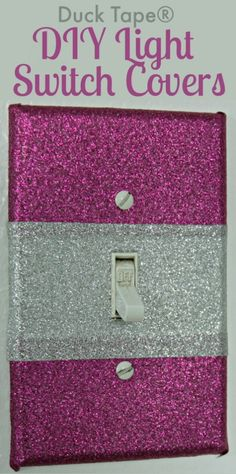 Duck Tape® DIY Light Switch Covers - The Crafty Blog Stalker