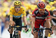 "Sabotage at the Tour de France, but Wiggins, who himself had to change his bike on the descent as a result of an apparent flat tire, told BBC Sport he thought allowing Evans to catch up was ""the honorable thing.""    http://sports.yahoo.com/blogs/post/extraordinary-act-of-sportmanship-keeps-cadel-evans-in-contention-at-tour-de-france?urn=top,wp529"