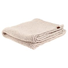 Lisse Throw Beige