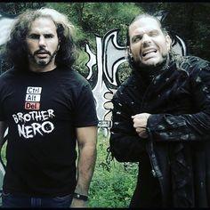 """Broken"" Matt Hardy & ""Brother Nero"" Jeff Hardy #tna"