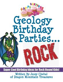 Rocks, Minerals and Fossils for Kids presents kits and supplies for rock crazy kids and children for homeschool, study, science fairs, birthday parties and gifts too!