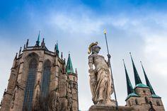 am Dom zu Erfurt
