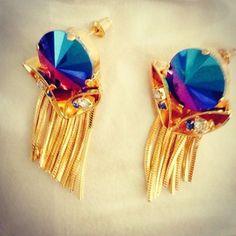 #miltonfirenze #earring #handmadeinitaly #jewelry www.milton-firenze.com Luxury Jewelry, Accessories Shop, Dream Catcher, Magazine, Jewellery, Handmade, Dreamcatchers, Jewels, Hand Made