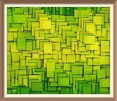Geometric Digital Art - Modern Abstract Xxxiii by Lourry Legarde Amsterdam Skyline, Melbourne Skyline, Milwaukee Skyline, Houston Skyline, Map Collage, Chicago Map, Abstract Digital Art, Green Paintings, Cityscape Art
