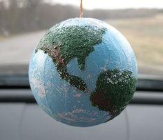Textured Globe Craft