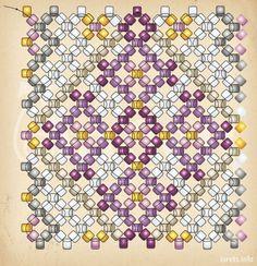 Пасхальные яйца со схемами( из интернета)