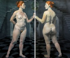 The Psychology of the Female Body in the Work of Daniel Maidman