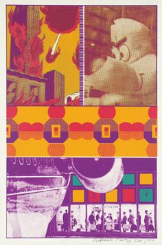 Sir Eduardo Paolozzi, 'Ernie and T.T. at St Louis Airport' 1967