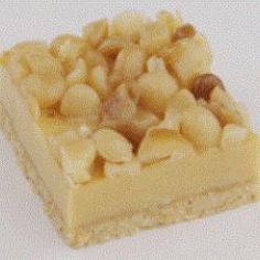 Caramel Macadamia Slice