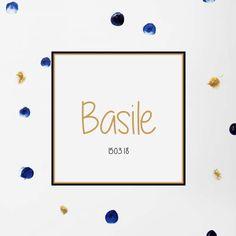 faire part naissance bébé, or, bleu, gold Invitation, Or, Place Cards, Place Card Holders, Blue, Invitations