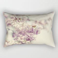 Cherries in bloom Rectangular Pillow