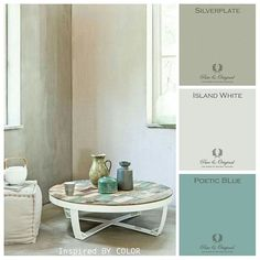 There is beauty in simplicity! #pureandoriginal #color #chalkpaint #moodboard #interior #lifestyle