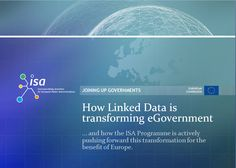 New publication: Case study on how Linked Data is transforming eGovernment - Michiel De Keyzer - January 28, 2013
