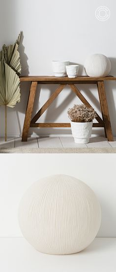 A stunning coral sphere table lamp crafted from resin to form this organic design. A light that adds that warm light and textured details to your interior.  A decorative piece in and of itself that works best singularly or as a pair. Available in a small and large. Shop Lighting Collective >