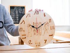 Именно древние египтяне были первыми, кто вычислил продолжительность года в 365 дней, но также придумали делить сутки на 24 часа☝ Clock, Wall, Home Decor, Watch, Decoration Home, Room Decor, Clocks, Walls, Home Interior Design