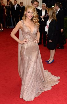 And her dress highlighted her curves so unfairly that she must have been born in it. | 19 Times Blake Lively Made You Wish You Were Blake Lively