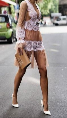 beauuutifuull - Inspirating looks - kleidung Lovely Dresses, Sexy Dresses, Short Dresses, Fashion Dresses, Fashion Mode, Look Fashion, Woman Fashion, Street Fashion, Fashion Tips