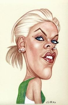 pink caricatures - Buscar con Google