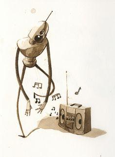 Robot & Music