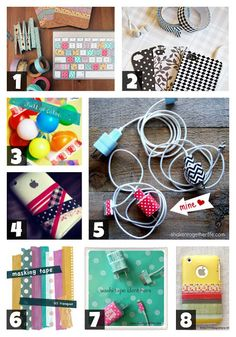 creative geekery: washi tape + tech = L.O.V.E.