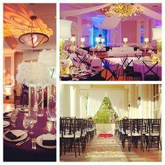 Brilliant wedding decor #fourseasonslv