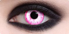 pink contacts <3 - Cool, I think I would like to try these. :) wow...