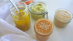 4 Simple Healthy Salad Dressings — Nutritionist | Natalie Brady | Expert on Auckland's North Shore Avocado Lime Dressing, Miso Dressing, Avocado Juice, Ripe Avocado, Salad Dressing Recipes, Salad Dressings, Healthy Salads, Healthy Eating, Raw Apple Cider Vinegar