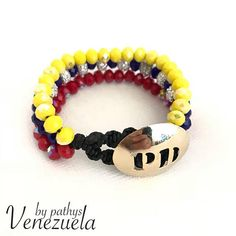3 in 1 tree color venezuela bracelet brooch gold plated-free