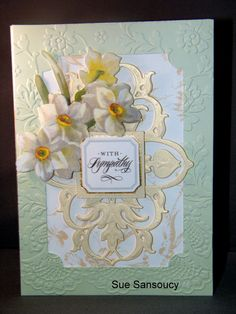Exceptional Card By D Marshall Using Anna Griffin Supplies: Peach Perfect Pallette  Card, Flower, Butterfly Diecut And White And Gold Lace Design From Lace  Cardu2026
