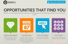 Workfu. Using your social networks to find your next job.