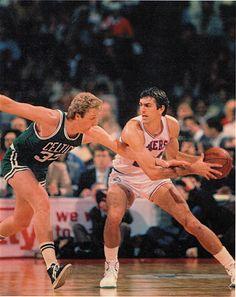 Childhood hero - Bobby, not Larry. Bobby Jones Basketball 76ers